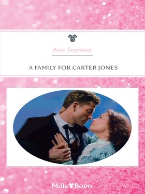 cover image of A Family For Carter Jones